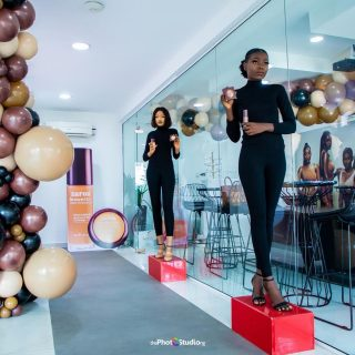 @zaroncosmetics Africa's leading cosmetics brand for the woman of colour officially launched their luxurious range of BrownSkin Foundation & Powder with a swatch party at their Ikoyi HQ.  They new range comes in more diverse shades! Non-oxidizing, sweat & humidity resistant with an improved upon lavish formula that is transfer proof!  Head to @zaroncosmetics for all the details you need to get free samples/swatch for your perfect colour.  SWIPE to see some of your favourites from the swatch party.  Head to the link in bio for all the details from the launch.  #ZaronBrownSkin #BrownSkin #BrownSkinMakeup #zaroncosmetics #zaron  #makeupforblackwomen#makeupformelaningirls#makeupfortheday #makeupforwoc#darkskinbaddiesdaily#blackbarbie#nigerianbeauty#nigerianbeautyblogger#eyeshadowlooks#blackgirlmakeupvideos#blackgirlmakeup