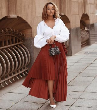 You have our blessings to show up a little extra this week after-all it was a nice long weekend 😉  📸: @lerato_kgamanyane  #stylishafricans #styleinspiration #styles #skirtstyles #fashionstaples #melaninstylediary #melaninlove