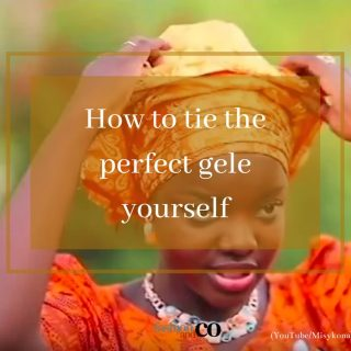 It's the weekend & you know what that means; socially distant & responsible owambe time!   Gele is a common feature on Saturdays in this neck of the woods.  For wedding parties, housewarming parties where there's Asoebi gele comes in tow but not to worry we've got you covered if you want to save some extra cash & time going to get one tied.  To get that full traditional look glam this weekend, if you have found it hard to tie your gele yourself you're in luck because pro makeup/ gele  @misidreads @misykona of N'Sure Beauty hooked us up!  Clink link in bio to see her break down in easy steps.  #gele #gelestyles #gelestylist #howtotiegele #traditionalwedding #tradlookbook #owambe #owambestyle #owambestyle #melaninqueen #melaninstyle